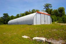 Wide Angle Storage Unit. Stock Photo