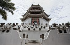 Free White China Tower Royalty Free Stock Photo - 20627775