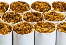 Free Cigarette Closeup Royalty Free Stock Photos - 20627798