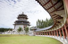 Free White China Tower Royalty Free Stock Photography - 20627877