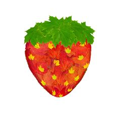 Strawberry Made From Leaves