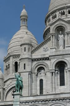 Free Sacre Coeur Detail Royalty Free Stock Image - 20629266