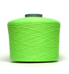 Free Coil With Green Thread Royalty Free Stock Photography - 20629487
