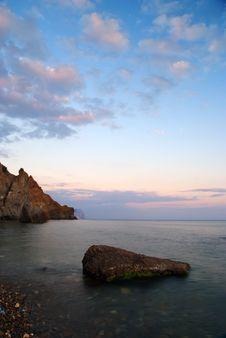 Free The Rock At Sunset Stock Photos - 20629963