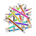 Free Pencil Paper Craft Stock Image - 20637001