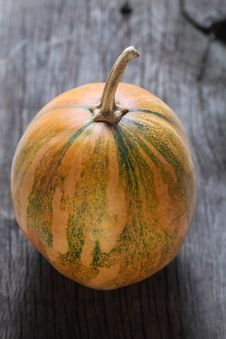 Free Pumpkin On The Wooden Background Stock Photo - 20630090