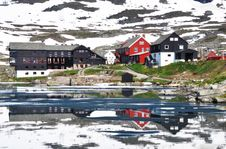 Finse In Summer, Norway Royalty Free Stock Photos