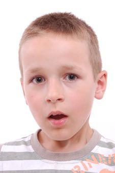 Free Portrait Of A Boy Stock Image - 20630871