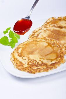Free Pancake Royalty Free Stock Photos - 20632938