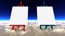 Free The Canvas Of The Clouds Royalty Free Stock Photo - 20633035