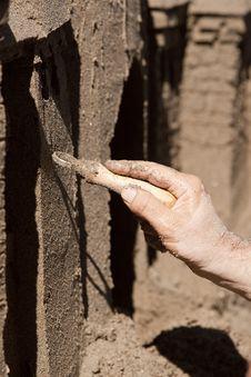 Free Steady Hand Shapes Sand. Stock Photos - 20633243