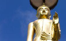 Buddha In Wat Laem Yang. Royalty Free Stock Photography