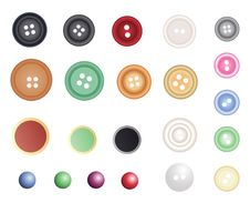 Free Many Different Buttons Royalty Free Stock Images - 20635379