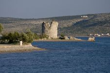Free Tower Vecka In Starigrad Paklenica Stock Photography - 20635472