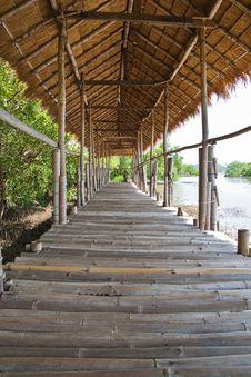 Free Bamboo Walkway Stock Image - 20636041