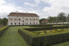 Free Romantic Renaissance Chateau Kratochvile. Stock Image - 20636081