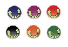 Free Arrow Waiting Logo Stock Photos - 20636143