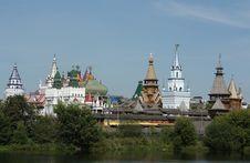 Izmailovo. View Of The  Kremlin Royalty Free Stock Photo