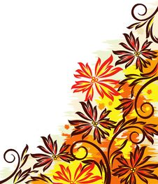 Free Colorful Autumn Design Stock Images - 20636554