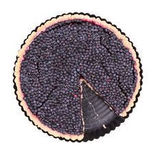 Free Blueberry Tart Stock Image - 20636581