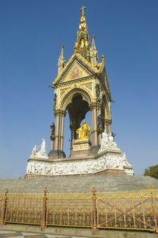 Free Albert Memorial At London Royalty Free Stock Photos - 20636898