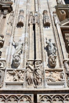 Free Milan Cathedral Royalty Free Stock Image - 20636906