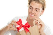 Free Gift And Bag Stock Photos - 20639083