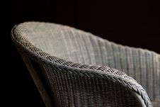 Free Basket Wicker Chair Royalty Free Stock Image - 20639206