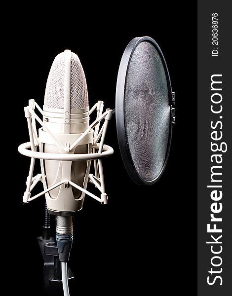 Professional Studio Microphone Free Stock Images Photos 20636876 Stockfreeimages Com