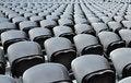 Free A Rows Black Seats Stock Photo - 20640260