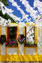 Free Flowery Streets, Redondo Village, Portugal. Royalty Free Stock Images - 20644249