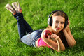 Free Woman With Headphones Royalty Free Stock Photo - 20644985