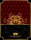 Free Vintage Background With Crown Stock Photo - 20647110