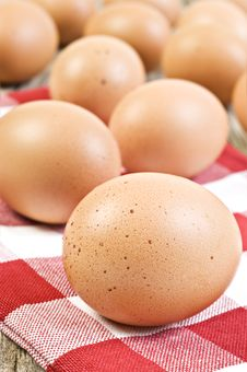 Free Fresh Healthy Eggs From The Farm Stock Photography - 20640302