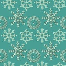 Seamless Ornament Background Stock Images