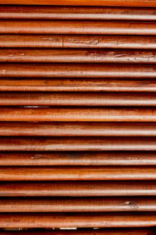 Free Round Teak Wood Wall Royalty Free Stock Image - 20640416