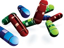 Free Pills Royalty Free Stock Photography - 20640487