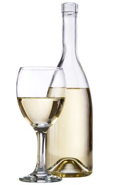 Free White Wine Bottle Stock Photos - 20640803