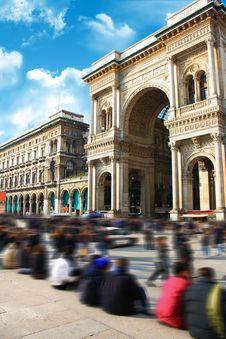 Free Galleria Vittorio Emanuele Milano Expo Stock Photo - 20640930