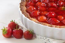 Free Strawberries Pie Stock Image - 20641381