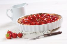Free Strawberries Pie Stock Photography - 20641432