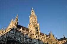 Free Munich City Hall Stock Photo - 20641820