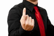 Free Finger Up! Stock Image - 20642001