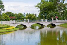 Free Bridge In Park Stock Photos - 20642863