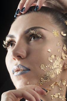 Free Close-up Portrait Of Beautiful Brunette Stock Photo - 20643030