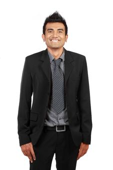 Free Handsome Smiling Businessman Stock Photos - 20643093