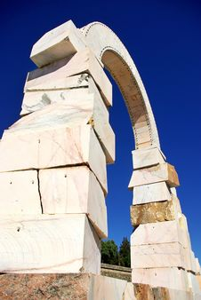 Free Marble Sculpture Of Roman Arch Stock Image - 20643301