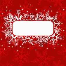 Free Red Xmas Banner Stock Photo - 20643340