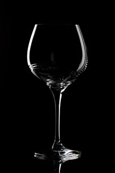 Free Structured Wine Glass Royalty Free Stock Images - 20643659