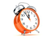 Free Retro Alarm Clock Royalty Free Stock Photo - 20643675